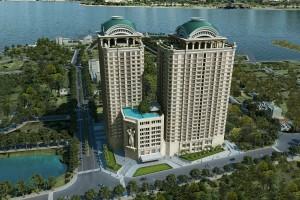 Giá trị của bất động sản ven Hồ Tây