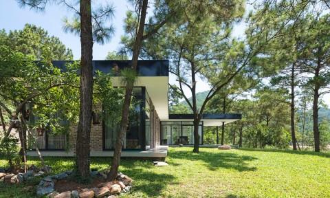 Ngôi nhà nằm trên đồi thông ở Việt Nam lên tạp chí Mỹ