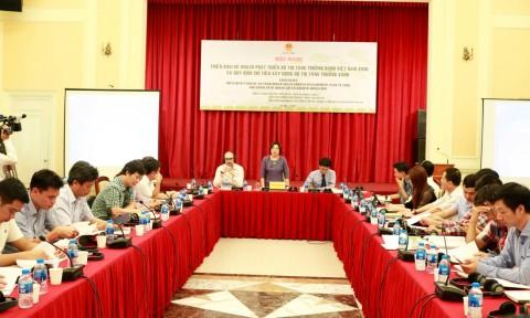 Triển khai kế hoạch phát triển đô thị tăng trưởng xanh Việt Nam đến năm 2030