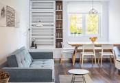Cách trang trí nhẹ nhàng, quyến rũ trong căn hộ một phòng ngủ