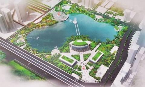 Công viên trăm tỷ ở Hà Nội vẫn 'đắp chiếu'