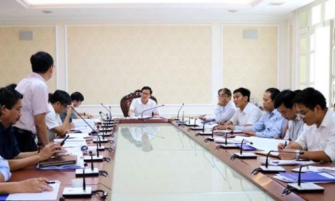 Hội nghị thẩm định Nhiệm vụ Quy hoạch cấp nước các vùng kinh tế trọng điểm