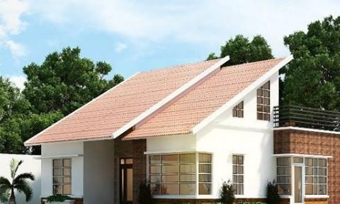 10 kiểu mái nhà vừa đẹp mắt vừa dễ xây