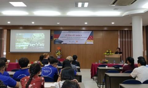Lễ tổng kết và trao chứng chỉ cho sinh viên khoá X Chương trình Liên kết Đào tạo Dự bị Đại học giữa trường ĐH Xây dựng (Việt Nam) và các trường Đại học tại CHLB Đức