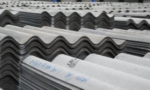 Bộ Tài chính đề nghị bỏ cơ chế khuyến khích phát triển vật liệu khác thay thế tấm lợp amiăng