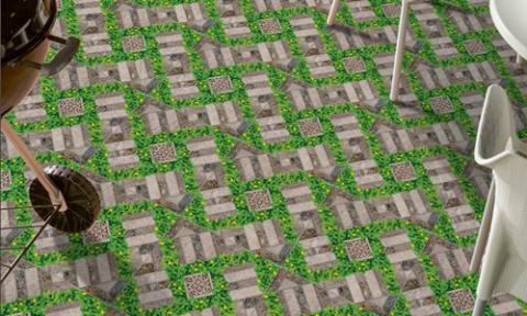 Chọn gạch lát sân vườn cho không gian sống thoáng mát