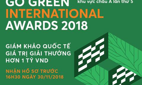 Khởi động giải Kiến trúc xanh Quốc tế Spec Go Green 2018