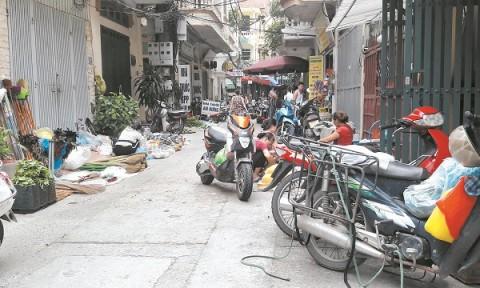 Vi phạm trật tự đô thị trong ngõ, ngách: Thiếu chế tài xử lý