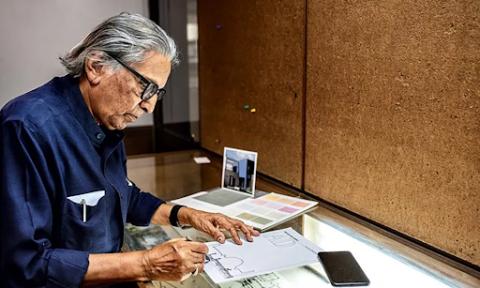 Phỏng vấn KTS đoạt giải Pritzker 2018 – Balkrishna Doshi