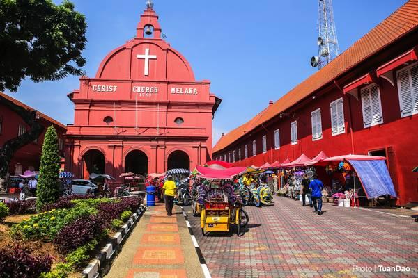 Bảo tồn di sản khu trung tâm phố cổ TP Maclaca (Malaysia) góp phần tạo nên thương hiệu đô thị di sản toàn cầu