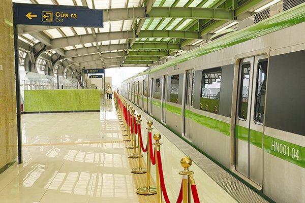 Dự án đường sắt đô thị tuyến Cát Linh - Hà Đông bị đội vốn 440%, tương ứng với 38.556 tỉ đồng. Ảnh: NGUYỄN NAM