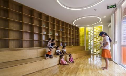 Trường mẫu giáo Chuồn chuồn kim 2 – Kích thích sự tương tác của cả trẻ em và người lớn
