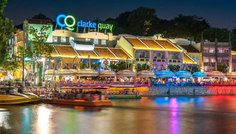 Quần thể công trình nhà ở kết hợp dịch vụ theo phong cách kiến trúc bản địa  được bảo tồn trong đô thị  hiện đại tại   khu vực Clack Quay (Singapore)