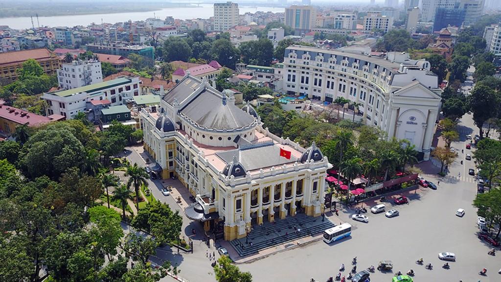 Nhà hát lớn Hà Nội vẫn giữ được vị thế  do có được những quy định tốt về quy hoạch – cảnh quan xung quanh