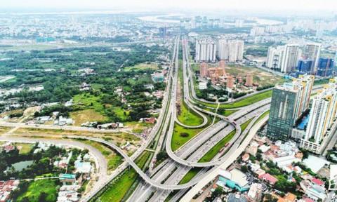 Những dự án hạ tầng giao thông lớn tại TPHCM mới hoàn thành khiến giá nhà đất xung quanh tăng đột biến