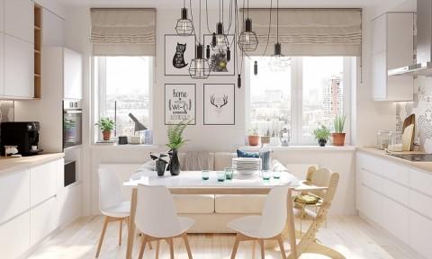 Sử dụng nội thất gỗ tông trắng cho ngôi nhà thêm hiện đại, sang trọng
