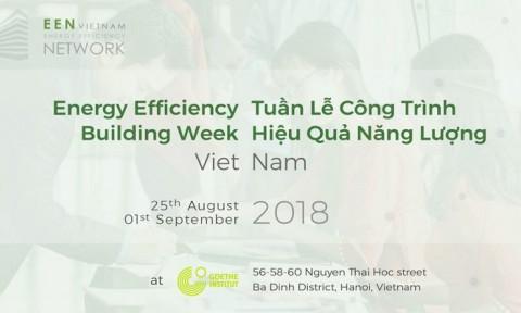 Khai mạc Tuần lễ Công trình Hiệu quả Năng lượng Việt Nam 2018