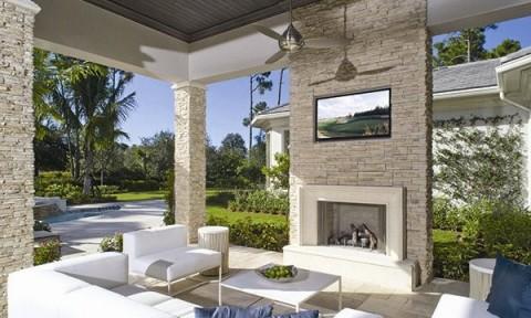 Những bức tường đá điều hòa không khí cho ngôi nhà