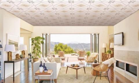 Tấm trần thả PVC – xu hướng mới trong thị trường trang trí nội thất