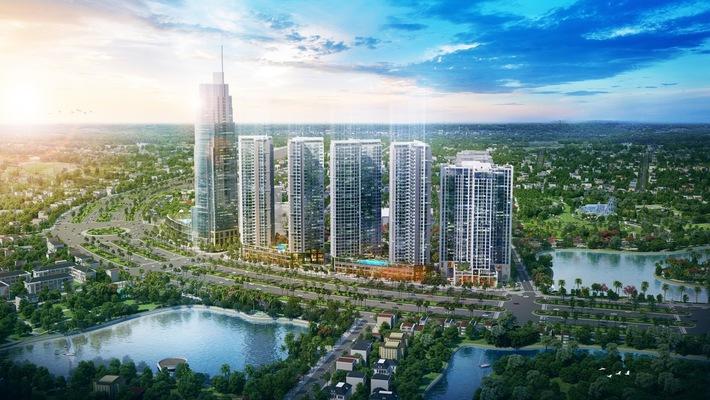 Phối cảnh dự án Eco Green Saigon.