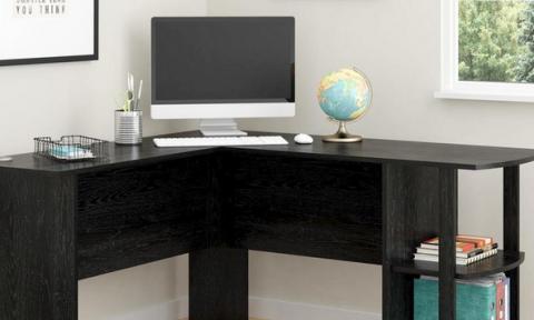 Tận dụng góc nhỏ trong nhà để bố trí bàn làm việc đẹp