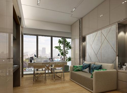 """Alpha Hill sở hữu thiết kế độc đáo, để trở thành căn hộ """"biến hình"""" đầu tiên tại Việt Nam."""
