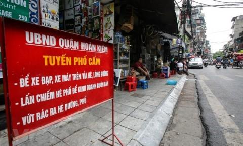"""Hà Nội khẩn trương xử lý các điểm """"nóng"""" về trật tự xây dựng"""