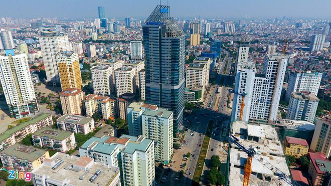 Quy hoạch bị băm nát, bộ mặt đô thị của nhiều TP lớn trở nên nham nhở, lộn xộn (Ảnh Zing.vn)