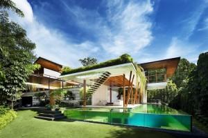 Biệt thự Singapore đẹp như tiên cảnh
