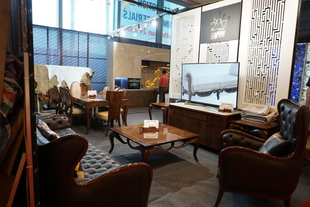 Sofa mang phong cách vintage thời thượng