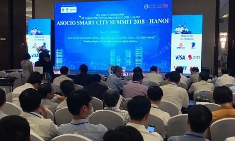 Khai mạc Hội nghị Thượng đỉnh về Thành phố thông minh ASOCIO 2018