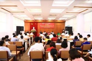 Hội nghị Tổng kết hoạt động công đoàn năm học 2017-2018 và triển khai nhiệm vụ năm học 2018-2019