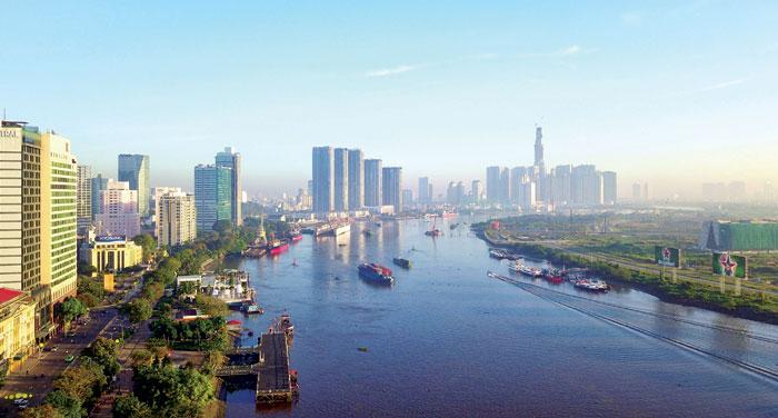 Thị trường BĐS TP Hồ Chí Minh được các chuyên gia nhận định đã bước vào giai đoạn điều chỉnh. Ảnh: Ngọc Tiến