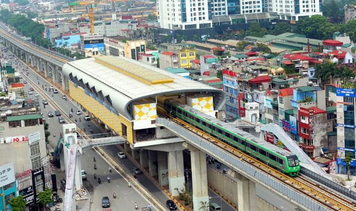 Vận hành chạy thử tuyến đường sắt đô thị Hà Nội, tuyến Cát Linh – Hà Đông