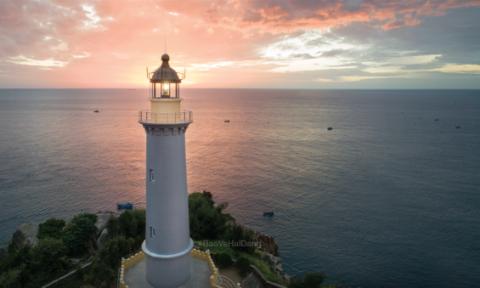 Hải đăng đẹp nhất Việt Nam đã được bảo vệ bởi Dulux Weathershield