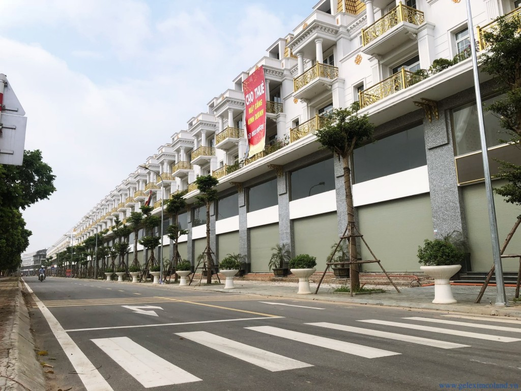 Khu Shophouse Geleximco Hà Đông, Hà Nội