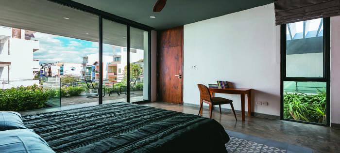 Tổ chức không gian nội thất cần đảm bảo tầm nhìn và hài hòa với thiên nhiên