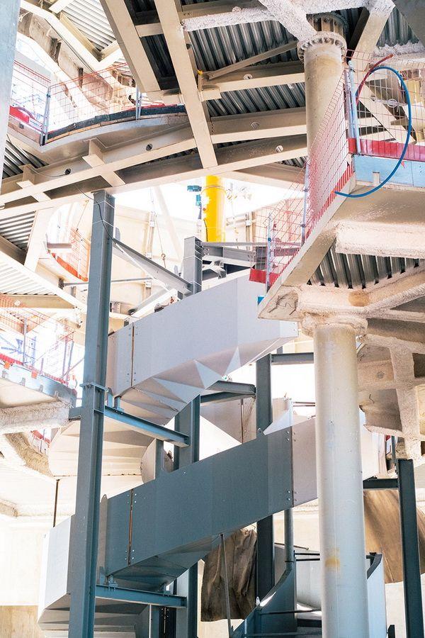 Cấu trúc sẽ mở ra theo từng đoạn, với những vị khách đầu tiên được chào đón vào cuối năm 2018