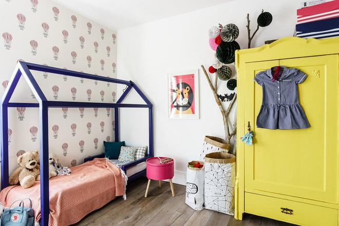 Một mẫu phòng ngủ xinh xắn cho bé gái (Ảnh: Internet)
