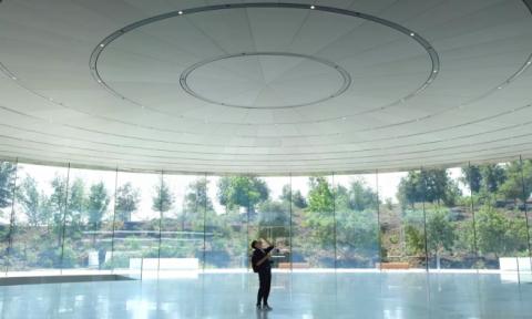 Những bí mật đầy bất ngờ bên trong khán phòng Steve Jobs – nơi những chiếc iPhone 2018 ra mắt
