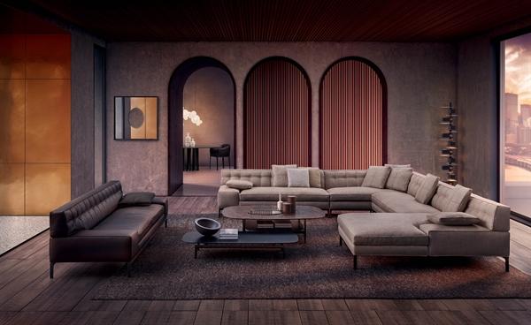 Bộ sưu tập sofa Volage EX-S là sự cải tiến từ mẫu ghế sofa kinh điển với kỹ thuật capitonné – khâu chần, thay thế nút truyền thống bằng thiết kế khâu chần đơn giản và tinh tế.