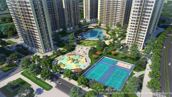 VinCity được phát triển theo mô hình đại đô thị đẳng cấp Singapore và hơn thế nữa.