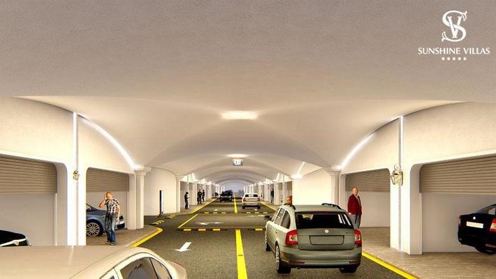 """Với hệ thống giao thông ngầm và nhiều tiện ích đắc dụng, đẳng cấp, chuỗi biệt thự Sunshine Villas sẽ trở thành """"tâm điểm"""" của thị trường"""