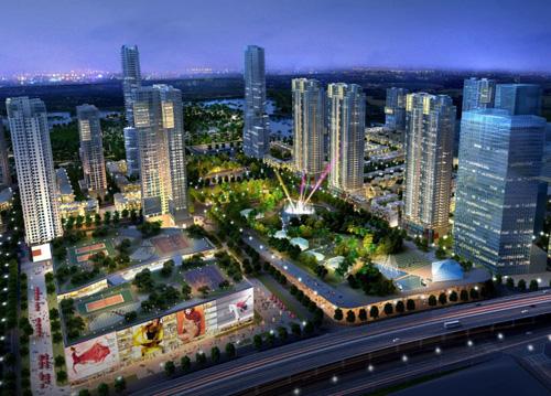 Khu đô thị The Manor Central Park tại Hà Nội là dự án của chủ đầu tư Bitexco.