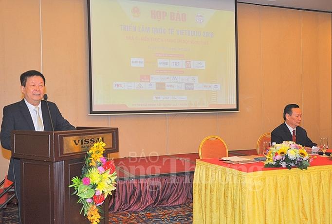 TS. Nguyễn Quang Cung, Phó Trưởng Ban tổ chức giới thiệu về Triển lãm Vietbuild TP Hồ Chí Minh 2018 - Lần thứ 3