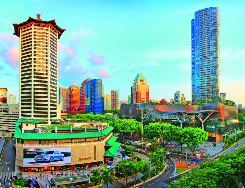 Công trình phức hợp cao tầng tuyến phố Orchard (Singapore)