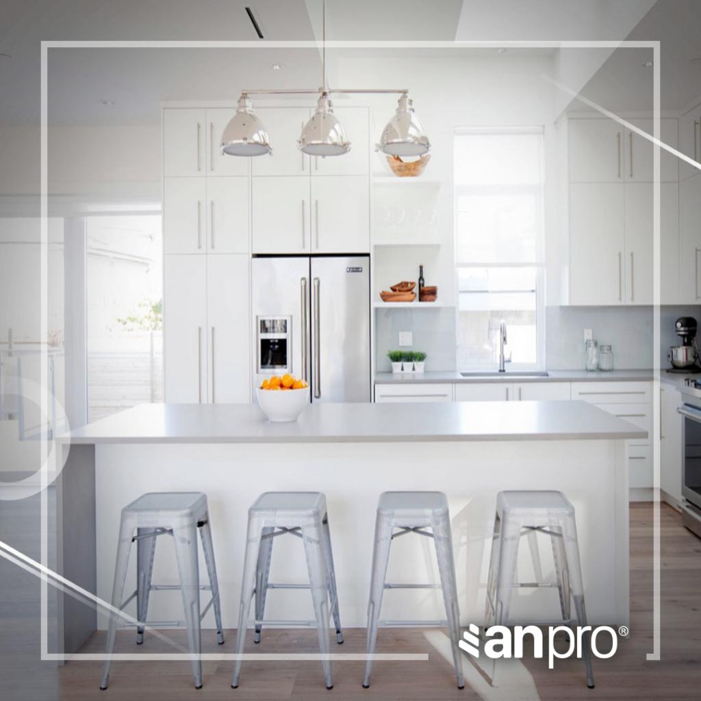 Không gian bếp sang trọng được thiết kế lớp nhựa kiến trúc