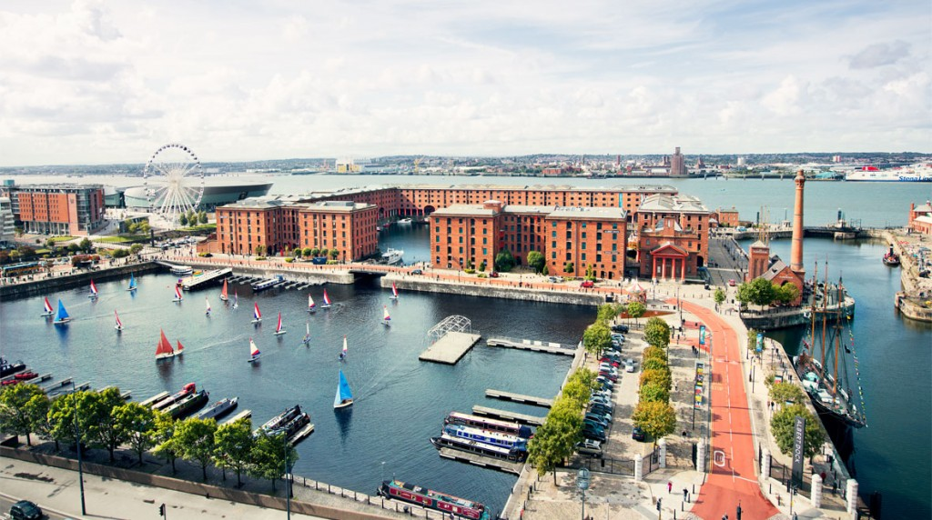 Cảng Albert Dock ngày nay (Ảnh TL tác giả)