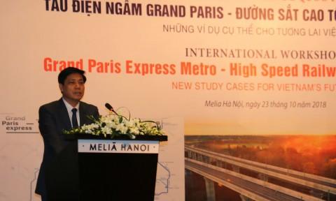 Hội thảo quốc tế Tàu điện ngầm Grand Paris – Đường sắt cao tốc – Đô thị thông minh