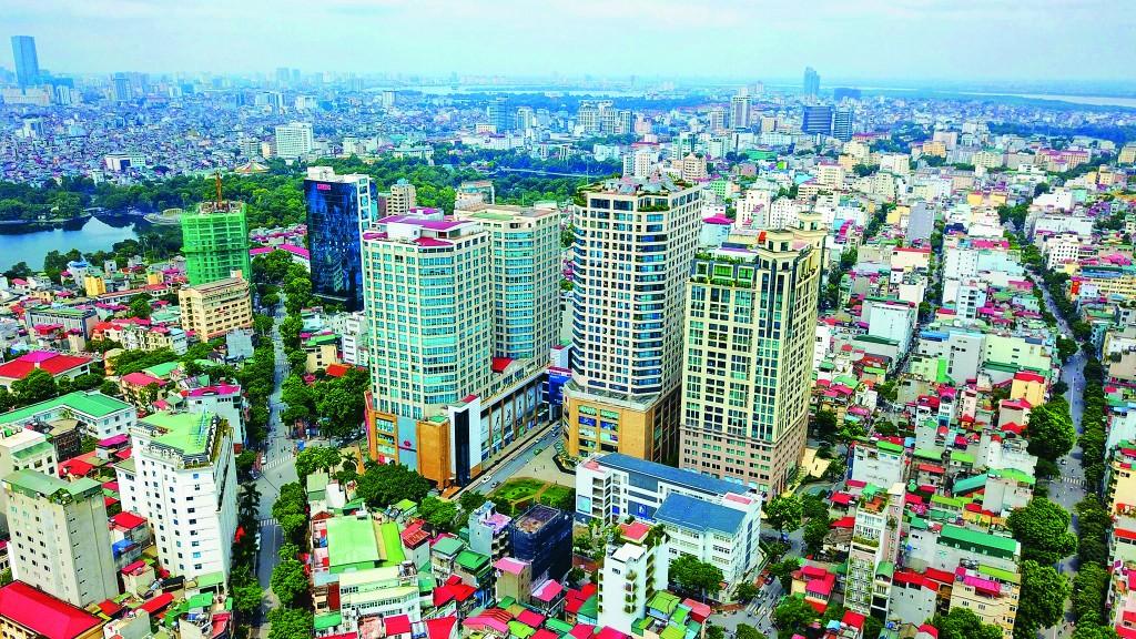 Vincom Bà Triệu Tower, một trong những công trình tổ hợp cao tầng hỗn hợp đầu tiên tại TP Hà Nội